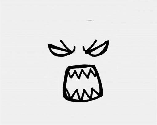 表情 简笔表情 花瓣网 陪你做生活的设计师 简笔画表情, 可以在日记本上用哦, 表情