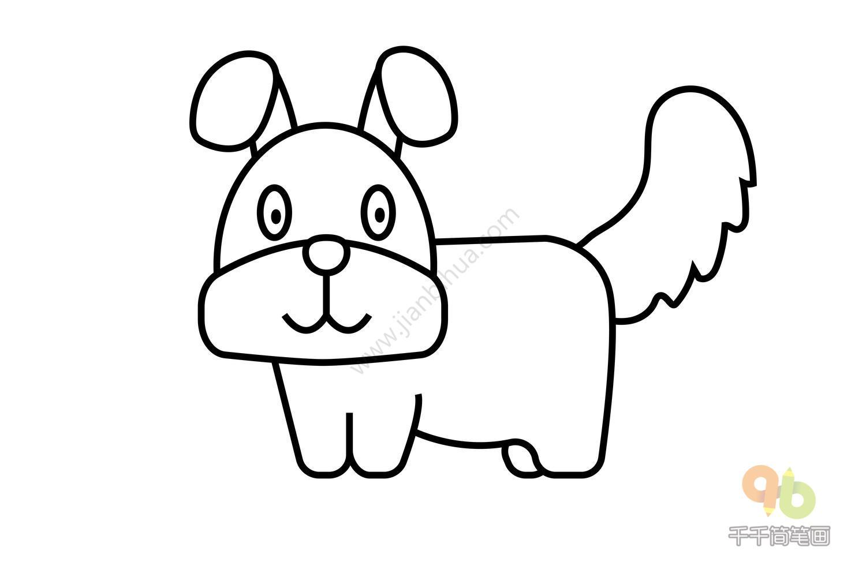 乖巧的大白兔简笔画简笔画大全千千简笔画图片教程 表情