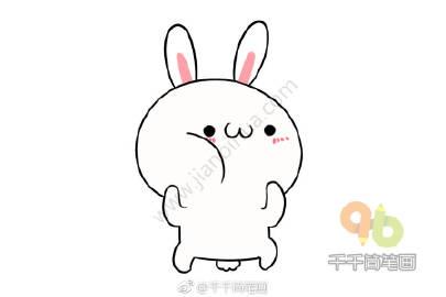 表情 兔子简笔画 表情