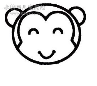 表情 开心大笑的猴子简笔画简笔画表情猴子简笔画猴子怎么画简笔画哈