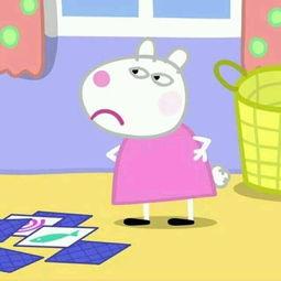 表情 小猪佩琪乔治卡通 佩琪乔治情侣头像下载 表情