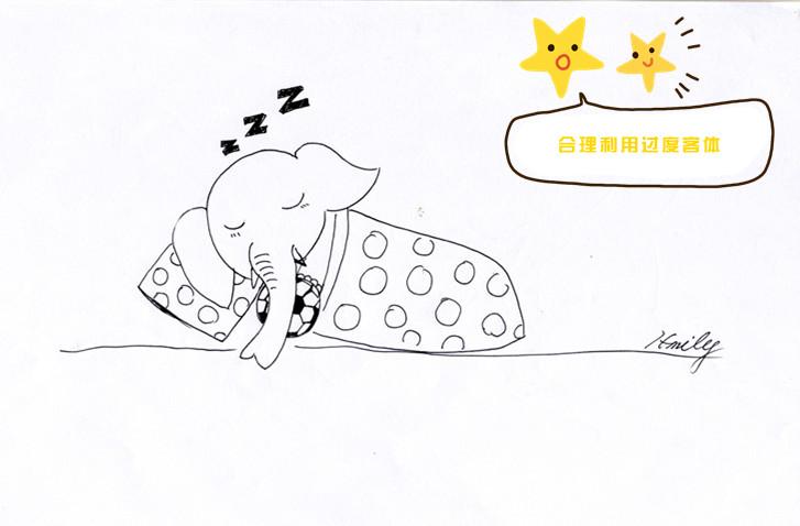 表情 在幼儿园午睡也变得相对容易些 乐乐简笔画 表情