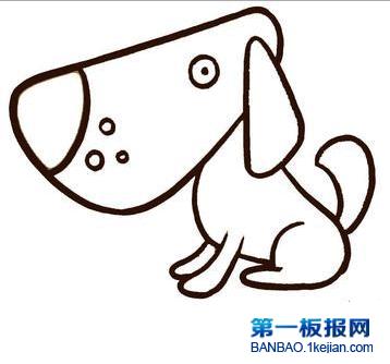 表情 如何画简笔画狗 简笔画兔子 就要健康网 表情