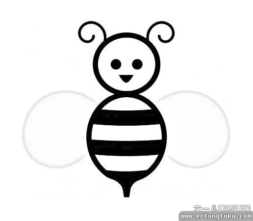 表情 小蜜蜂的简笔画简笔画大全蜜蜂蝴蝶简笔画大全简笔画表情小兔子的  表情