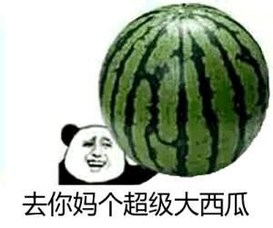 简笔画新摘的大西瓜