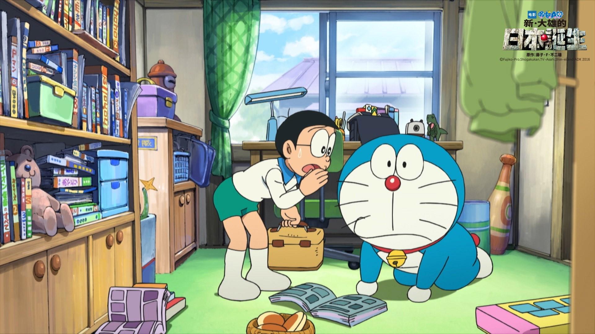 表情 哆啦A梦 新 大雄的日本诞生电脑壁纸第一辑第5页 高清桌面壁纸 图片