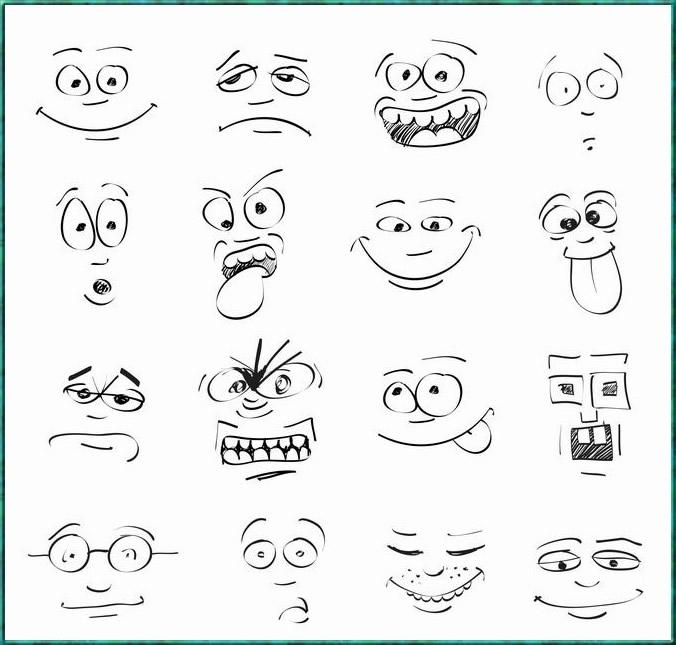 表情 幼儿简笔画大全 简笔画表情图片大全 8 人物表情简笔画大全人物