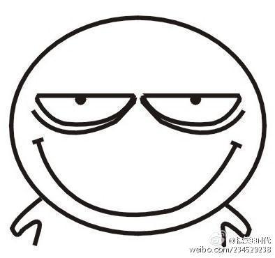 表情 搞笑简笔画图片 表情简笔画 就要健康网 表情