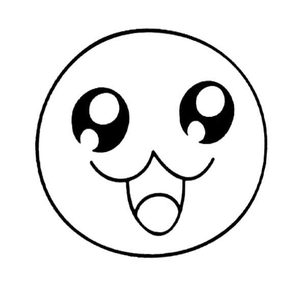 表情 表情简笔画 卡通表情简笔画大全 可可 表情