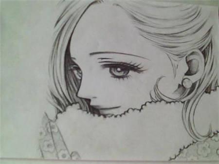 表情 动漫铅笔画 动漫人物铅笔画教学 动漫女生铅笔画 太平洋亲子网