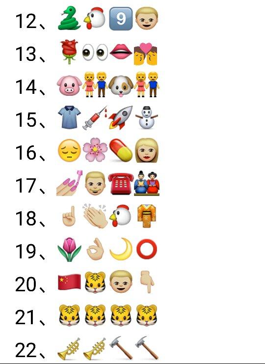 下图这些微信看图猜成语85个的答案 百度知道 表情