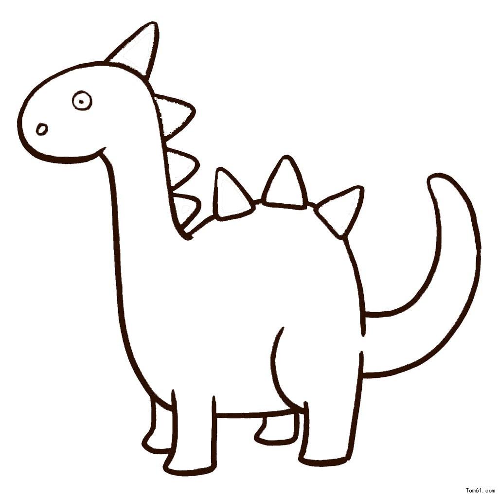 表情 幼儿简笔画图片大全 可爱的小恐龙简笔画 幼儿简笔画图片大全 可爱的小  表情