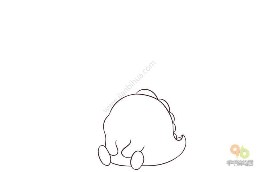 表情 吹空调的小青龙简笔画 简约型文化普通难度 表情包 表情