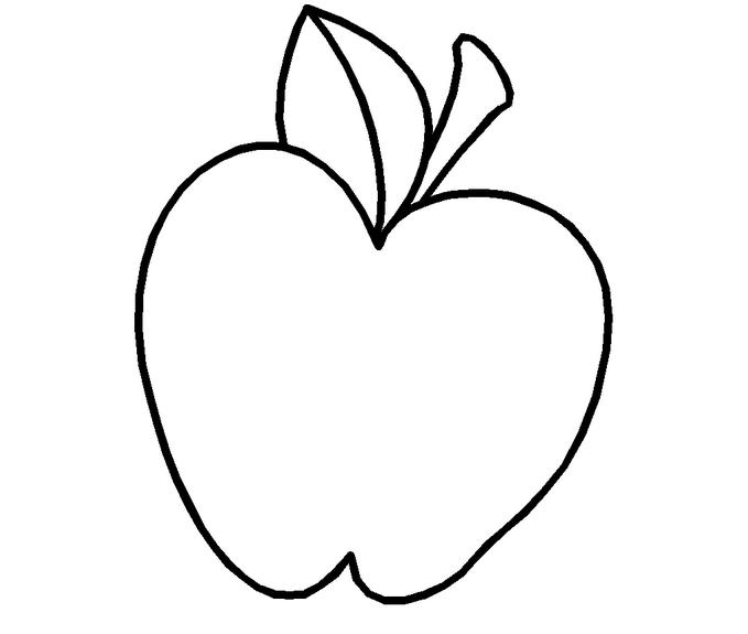 表情 水果简笔画 大苹果 第一板报网 表情