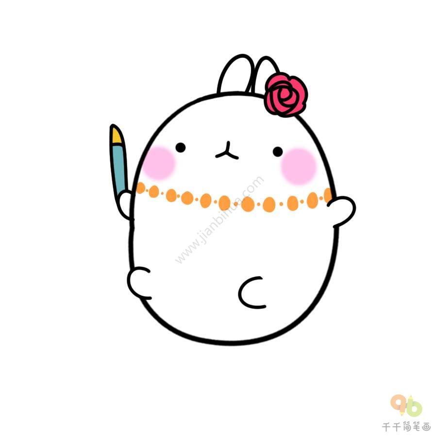 表情 土豆兔化妆表情包 表情包 千千简笔画移动版 表情