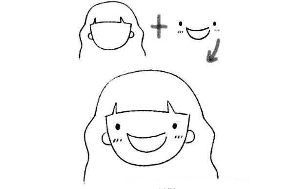 表情 笑脸简笔画表情 笑脸简笔画表情分享展示 表情