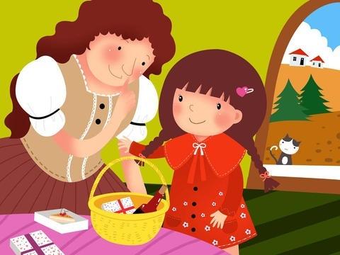 英语小故事书-幼儿故事小红帽-儿童英语故事小红帽