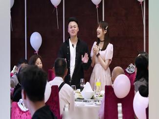 马剑越张杰夫妇婚宴照曝光 敬茶父母收红包幸福甜蜜