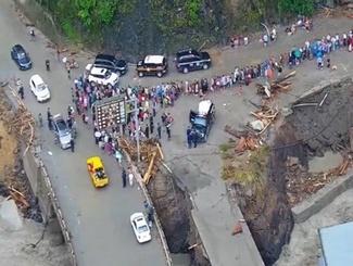 汶川山洪灾害持续