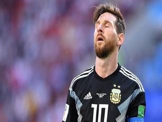 梅西失点阿圭罗斩首球 冰岛1-1逼平阿根廷