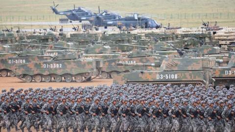 美军:中国军力即将赶超