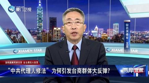 """""""中共代理人修法""""为何引发台商群体大反弹?"""