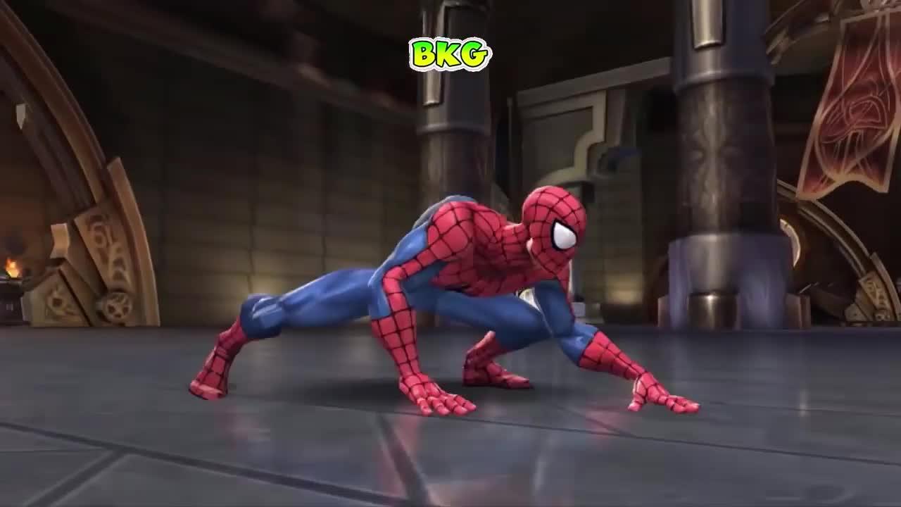 漫威超级英雄大乱斗之蜘蛛侠大战绿巨人格斗游戏