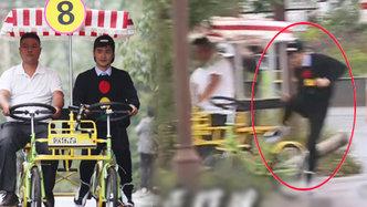 第十一期:意外!田亮骑自行车险出车祸