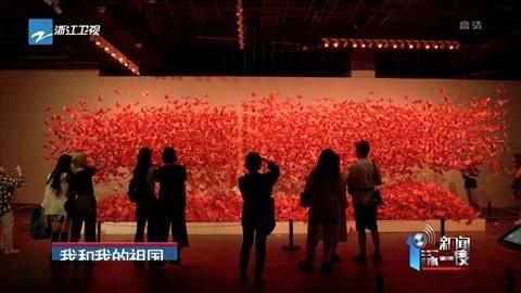 三万只纸鹤承载市民美好祝愿
