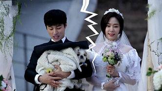 夙愿夫妇结婚9个月终于完成婚礼