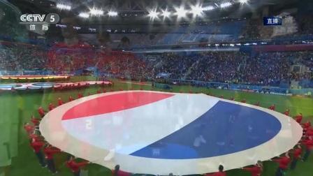 2018世界杯 半决赛 法国VS比利时:【录播】青春风暴!乌姆蒂蒂头槌破门建功 高卢雄鸡小胜1球挺进决赛