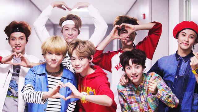 EXO师弟团均龄17岁!少年力爆表