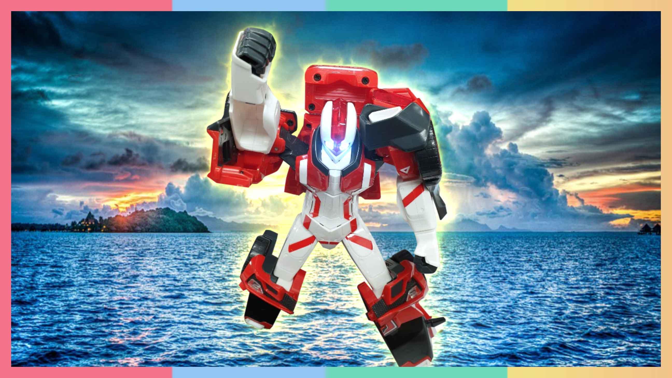 地球危机!超级机器人战士大战恶势力恐龙 | 凯利和玩具朋友们 CarrieAndToys