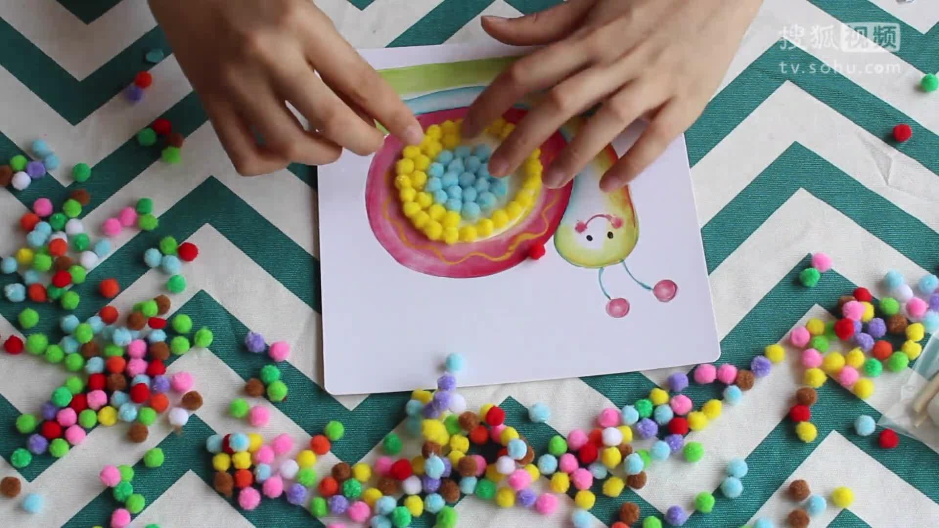 diy儿童手工画