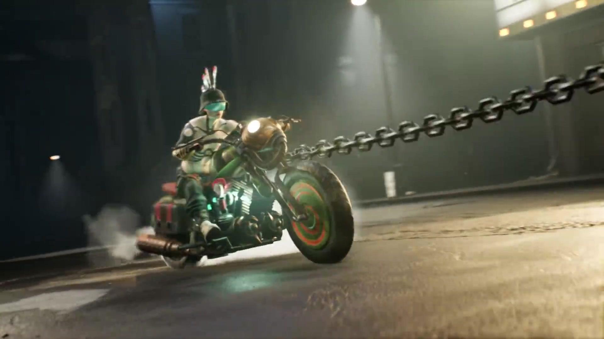 特技摩托加横板闯关的酷炫新作《STEEL RATS钢铁鼠》