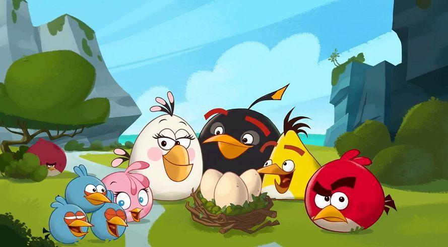 《愤怒的小鸟2》 21选择粉红小鸟史黛拉