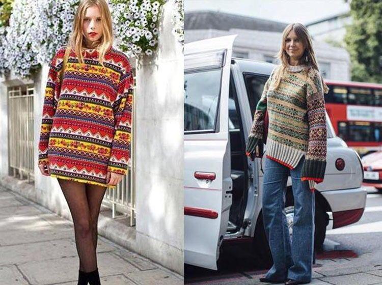 秋天和冬天選毛衣的時候一定要記住這三點 不然顯老氣 還顯胖