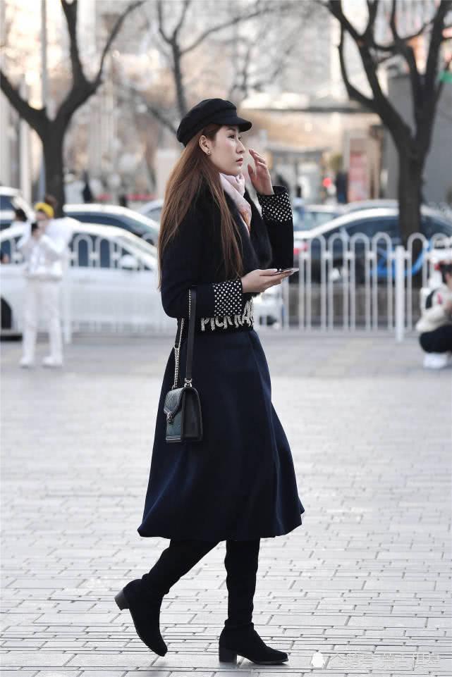 天龙八部私服开服冬季的大衣,如何搭配出增高显瘦的效果,还展现出气质