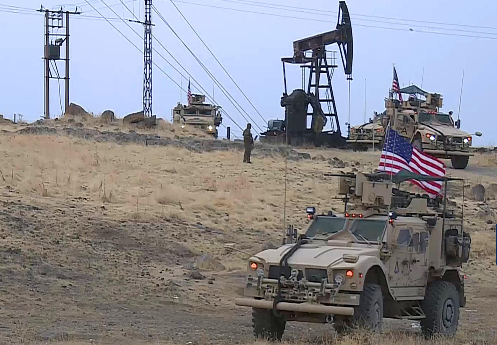 美軍光天化日搶劫石油,敘利亞不敢阻攔,俄羅斯發出最後通牒