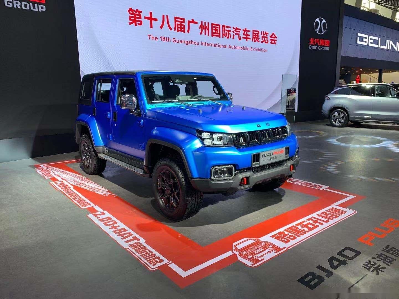 堪稱國產版牧馬人,油耗低至8.5L,帶你看全新北京BJ40國六版