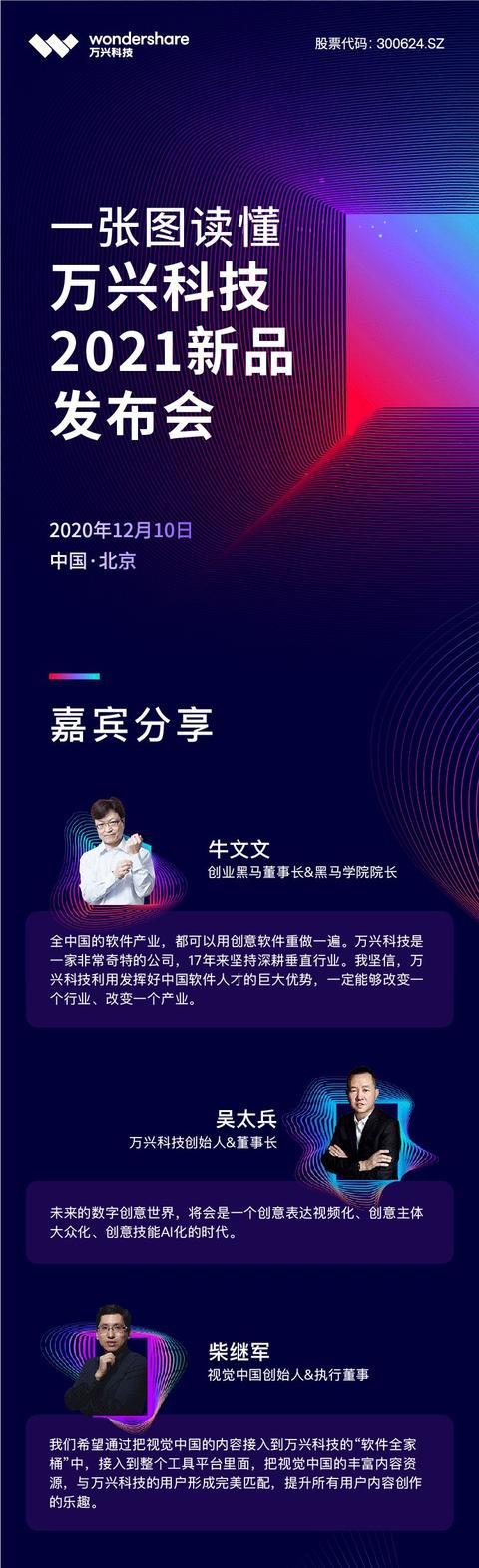 媒體見面會 | 萬興科技董事長吳太兵:做中國市場的長期主義者