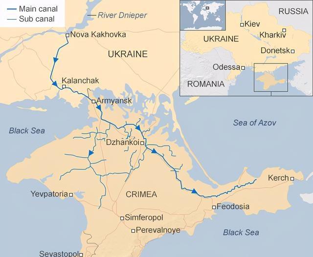 烏克蘭切斷克裡米亞供水近6年,俄羅斯沒求過一次,馬上自給自足