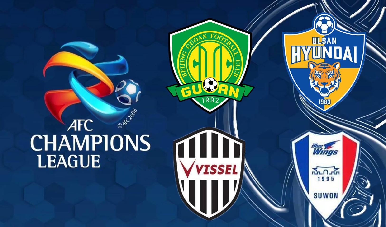亞冠東亞區4強對陣出爐:國安抽到下下簽,恒大同組2對手再度碰面