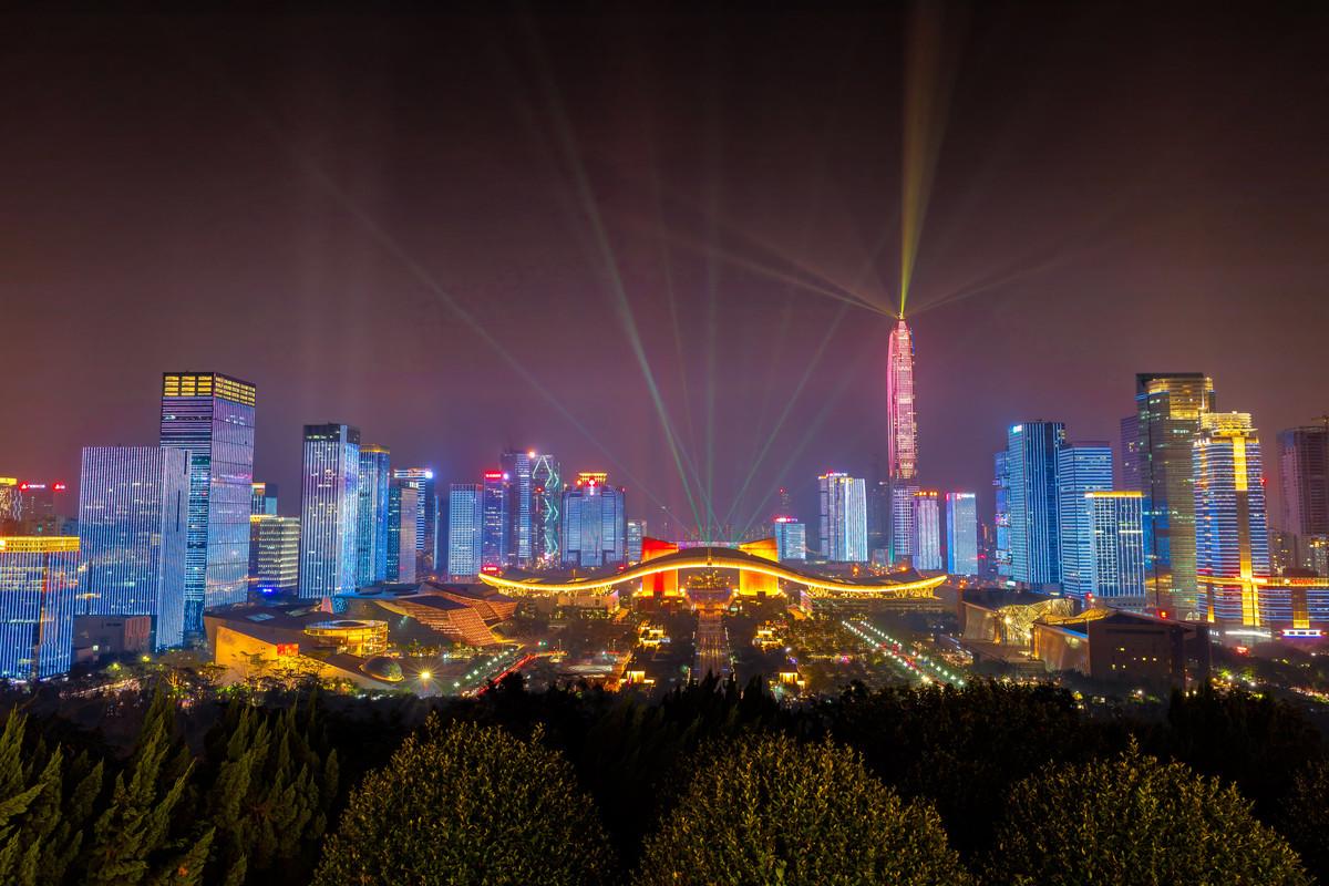 2020年深圳市GDP預計超過4100億美元,人均突破3萬美元
