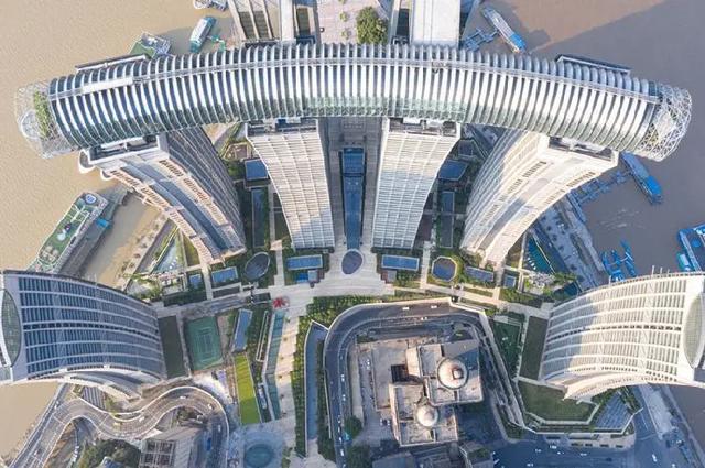 結構專傢解密重慶地標建築來福士廣場內部結構