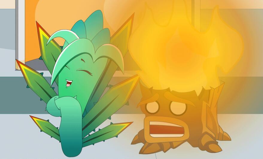 晚间补课-植物大战僵尸搞笑动画