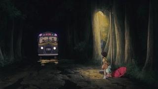 龙猫带走了给爸爸的伞  小梅小月被吓呆
