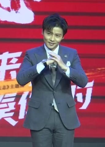 """《叶问外传:张天志》京城首映 张晋表演""""功夫蹦迪"""""""