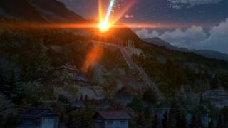 彗星真的砸中了小镇 昔日美丽小镇变成了今日的火海