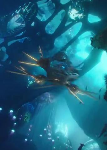"""《海王》""""水下奇观""""预告 带你深潜海底""""外太空"""""""